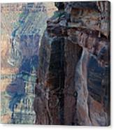 Grand Canyon Close Enough Canvas Print