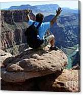 Grand Canyon Feeling All Right Canvas Print