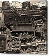 Grand Canyon Railroad Locomotive Canvas Print