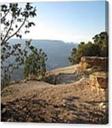 Grand Canyon Rim View Canvas Print