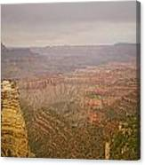 Grand Canyon Scenic Overlook View Canvas Print