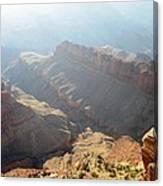 Grand Canyon Sunbeams Canvas Print