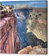 Grand Canyon Toroweap Vista Canvas Print