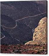 Grand Canyon Trail Canvas Print