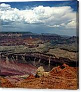 Grand Canyon View - Greeting Card Canvas Print