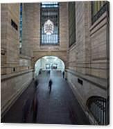 Grand Central Interior Canvas Print