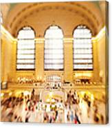 Grand Central Terminal New York City Canvas Print