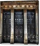 Grand Door - Leeds Town Hall Canvas Print
