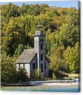 Grand Island E Channel Lighthouse 2 Canvas Print