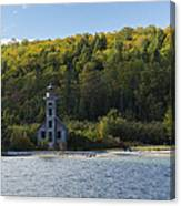 Grand Island E Channel Lighthouse 4 Canvas Print