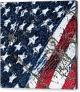 Grand Ol' Flag Canvas Print
