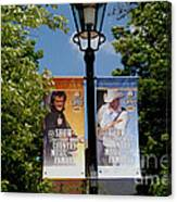 Grand Ole Opry Flags Nashville Canvas Print