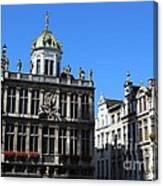 Grand Place Buildings Canvas Print