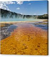 Grand Prismatic Spring IIi Canvas Print