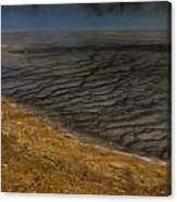 Grand Prismatic Spring Runoff Canvas Print