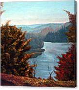 Grand River Look-out Canvas Print