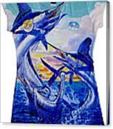 Grand Slam Ladies Shirt Canvas Print
