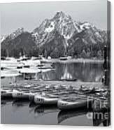 Grand Teton Dawn Iv Canvas Print