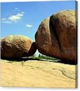Granite Boulders 2  Canvas Print