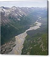 Granite Creek In The Chugach Mountains Canvas Print