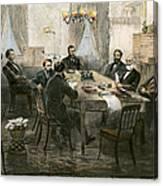 Grants Cabinet, 1869 Canvas Print