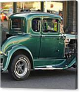 Grants Pass 2012 Cruise - Rumble Seat Open Canvas Print