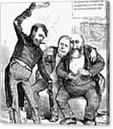 Grant/tweed Cartoon, 1872 Canvas Print