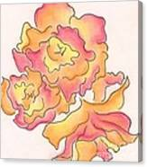 Graphic Rose Canvas Print