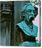 Grave Image Canvas Print
