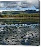 Gravel Lake, North Klondike Highway Canvas Print