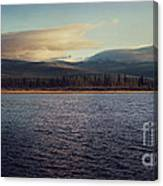 Gravel Lake Canvas Print
