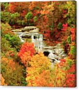 Graveyard Fields Lower Falls Canvas Print