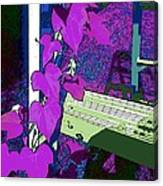 Gravir Les Echelons Canvas Print