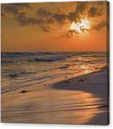 Grayton Beach Sunset 7 Canvas Print