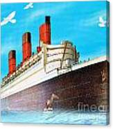 Great Ocean Liner Canvas Print