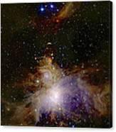 Great Orion Nebula Canvas Print