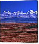 Great Salt Lake And Antelope Island Canvas Print