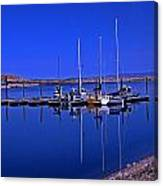 Great Salt Lake Antelope Island Marina Canvas Print