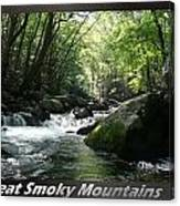 Great Smoky Mountains National Park 12 Canvas Print