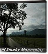 Great Smoky Mountains National Park 3 Canvas Print
