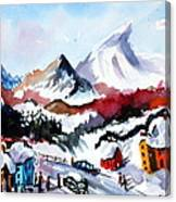 Great Snow Day Canvas Print