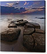Great South Bay Sunset Canvas Print