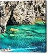 Greece Corfu Island Canvas Print