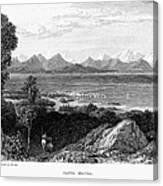 Greece: Levkas, 1832 Canvas Print