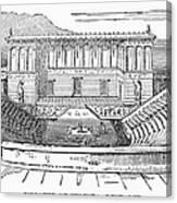 Greece: Theater Of Segesta Canvas Print