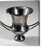 Greek Drinking Cup Canvas Print