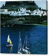 Greek Isles - Rodos Canvas Print