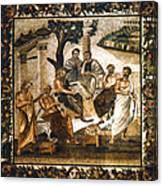 Greek Philosophers Canvas Print