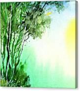 Green 1 Canvas Print