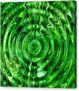 Green As Grass Canvas Print